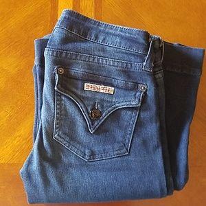 EUC Hudson Medium Wash Flare Leg Jean